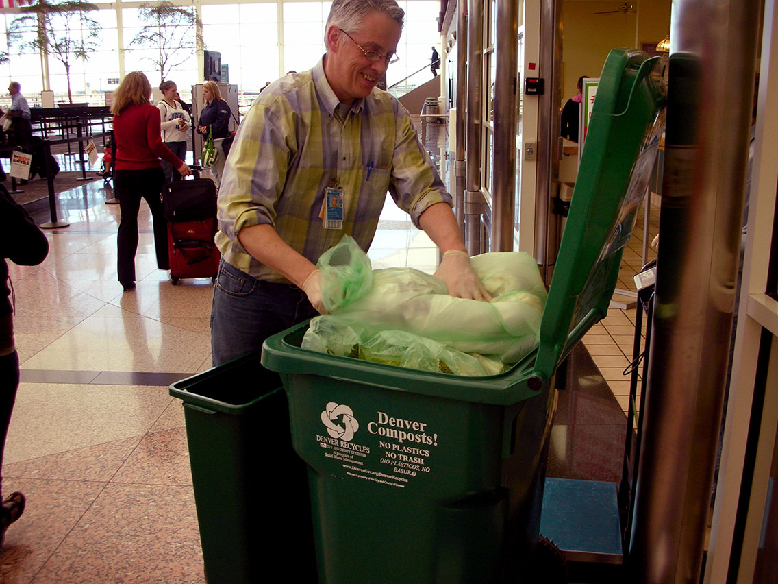 Organics Collection at Denver Int'l Airport