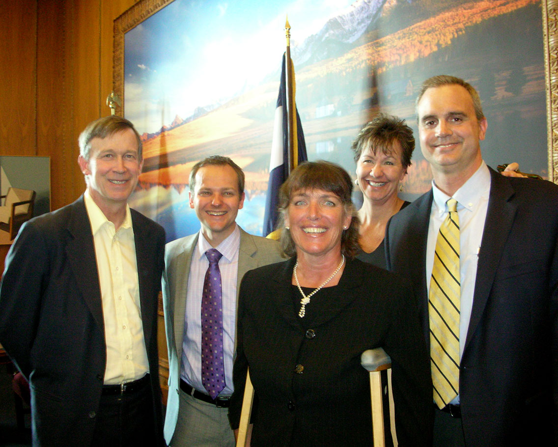 CAFR & Gov Hickenlooper/E-Waste Bill Signing