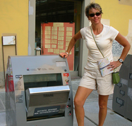Automated Recycling Bin – Florence, Italy