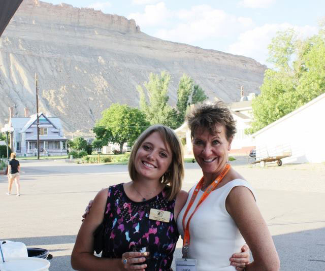 With Fellow CAFR Director Megan Lane at Summit in Grand Junction